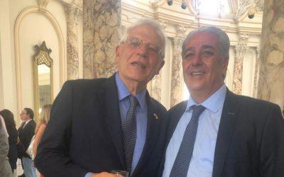 Josep Borrell se reúne con la comunidad de empresarios españoles en Cuba