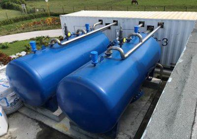 Planta de Tratamiento de Aguas en Báguano, Holguín, Cuba