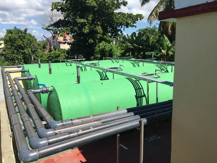 Plantas de Tratamiento de Aguas en Cienfuegos, Cuba
